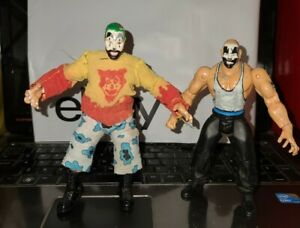 Violent J  & Shaggy 2 Dope ICP Action Figure Custom WCW Figure WWF WWE ECW XPW