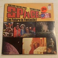 RARE SEALED Space: 1999 TV Show Episodes 4 Stories Sci Fi LP Power Records Mint