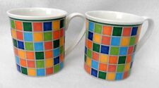 PAIR MUGS Villeroy & Boch Twist Alea Limone Fine China