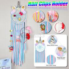 Unicorn Hair Clip Holder Hair Bo Headband Storage Wall Organizer For Girl  k  *