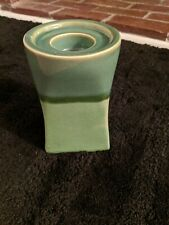 Party Lite Nature'S Garden Pillar Candle Holder Green 6 Inch Opened Box New!
