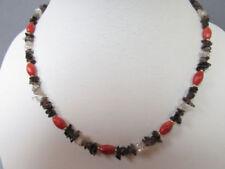 Runde Echtschmuck-Halsketten Korallen