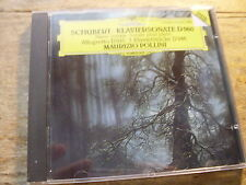 Schubert - Klaiviersonate D 960 [CD Album] DG Maurizio Pollin West Germany