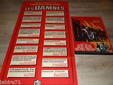 LES DAMNES   ! visconti affiche cinema  model rare 1969