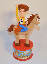 "1999 Woody Bullseye 8"" McDonald's Nerds Candy Dispenser Action Figure Toy Story"