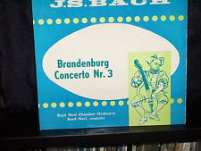 "BOYD NEEL CHAMBER ORCH BRANDENBURG CONCERTO Nr.3 - RARE 7"" 45 EP RECORD P/S"