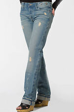 Country Chic Distressed Boyfriend Jeans NWT 25-28 By Antik Denim Designer