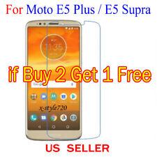 1x Clear LCD Screen Protector Guard Cover For Motorola Moto E5 Plus / E5 Supra