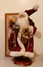 "GRANDEUR NOEL 16"" SANTA COLLECTOR'S EDITION 1999  with original box"