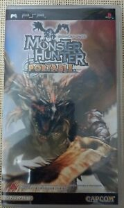 Vintage Classic Sony PSP Game Monster Hunter Portable Year 2006