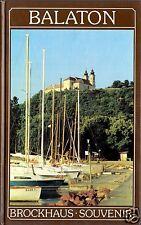 Brockhaus Souvenir, Balaton, Kleiner Bildband, 1989