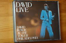 Rare David Bowie Live EMI 2 Disc double case 3 Bonus Tracks Mfg HOLLAND