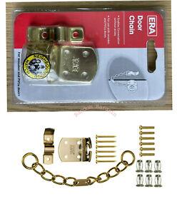 Era Security Door Chain for PVCu and Wooden Doors Brass Effect – 791-32