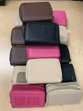 LOT OF 16 Leather Credit Card Wallet Coin Purse Clutch Wristlet Buxton Women