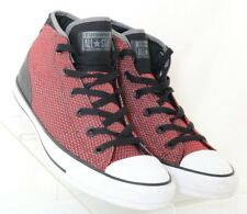 Converse All-Star 155486C Syde Street Red Black Mid Fashion Sneakers Men's US 9
