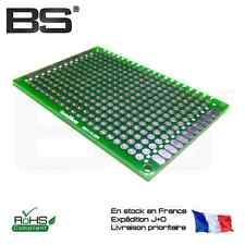 Carte essais epoxy double face 1.6 mm 4 x 6 cm 40 x 60 PCB proto