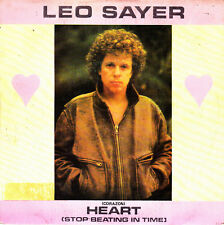 """LEO SAYER - HEART (STOP BEATING IN TIME) + THE END OF THE GAME SGL 7"""" SPAIN 1982"""