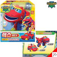Gogo Dino Mini 'REX' Red Dinosaur Transformer Super Car Robot Toy Korea TV