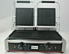 Catering Clamp Grill Double Sided Panini Press Twin Contact Grill Commercial