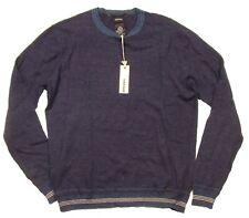 Diesel Men's Midnight Blue K-Anju Crew-Neck Pullover Sweater