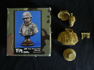 Army American Heroes 200mm Resin Bust  Verlinden1805
