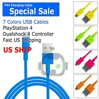 PlayStation 4 Controller USB Charge Cable KMD New (PS4 Charger Cord)