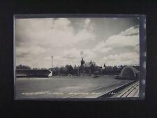Massie Athletic Field Bessemer Michigan S-861 Postcard 1940s Era