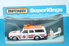 MATCHBOX SUPERKINGS K-96 * VOLVO KRANKENWAGEN * OVP * 1979