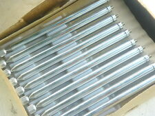 """50 pc Telescopic Antenna Tube Chromed Brass 6.25"""" to 43.5"""" retractable 9 section"""
