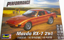 Revell 4429 1:24th scale Mazda RX-7 2 in 1 Stock or track builds