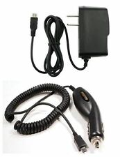 micro Home & Car Chargers For Tracfone StraightTalk LG LG440G 441G FLIP PHONE
