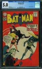 Batman 145 CGC 5.0 -- 1962 -- Joker cover and story.  A+ spine align #1472417008
