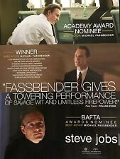 STEVE JOBS Oscar Academy Award advertisement Michael Fassbender ad