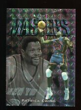1997-98 Topps Finest Silver Embossed Refractor Patrick Ewing #124 Knicks /263