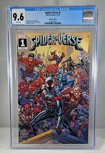 Spider-verse # 1 CGC 9.8 Walmart Variant NM 1st Appearance SPIDER ZERO