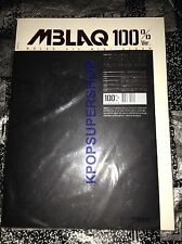 MBLAQ Mini Album Vol. 4 - 100%Ver CD NEW Sealed KPOP This is War Blaq Style