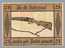 Notgeld - Suhl - Stadt Suhl - 25 Pfennig - 1922 - Pistolen und Gewehre - Bild 3