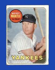 1969 Topps Set Break #500 Mickey Mantle LOW GRADE (crease) *GMCARDS*