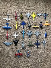 Die Cast Toy Airplane Jet Bomber Helicopter Lot of 28 Matchbox Maisto +++ YS