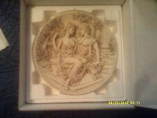 Aphrodite & Adonis Greek Marble Collector's Plate-Y Koutsis-Delos Apollo #605M