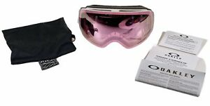Oakley Flight Deck XM Snow Goggles White With Prizm HI Pink Iridium Lens