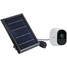 Wasserstein Arlo Solar Panel Compatible with Arlo Pro 2, Pro, Go & Ligh (1-Pack)
