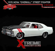 "GMP 18811 1:18 1970 CHEVROLET NOVA ""OVERKILL"" STREET FIGHTER"