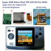 Retro Pixel IPS Backlight LCD Screen For NEO GEO Pocket Color NGPC Game Console