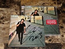 Steve Lukather Rare Authentic Signed CD Transition 2013 Toto Guitar Player + COA