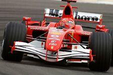 Ferrari F1 Formula One Automotive Car Wall Art Giclee Canvas Print Photo (208)