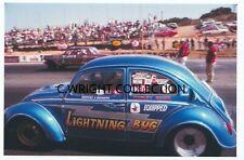 "Vintage Drag Racing-""LIGHTNING BUG""-SCHLEY BROS.-VW-Carlsbad Raceway"