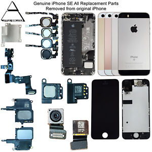 Genuine Apple iPhone SE All Replacement Parts GRADE A Housing LCDs Home Buttons