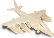 GR7 Harrier Jump Jet 3D Wooden Modelling Kit Model Jigsaw Puzzle