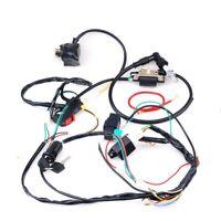 Full Electrics Wiring Harness Coil CDI 50-110CC ATV Quad Bike Buggy Go Kart B9H